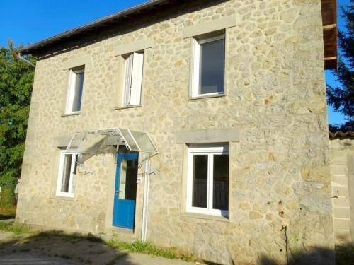 Fiche de présentation Maison à vendre de 74 m²  3 pièces à RILHAC-RANCON
