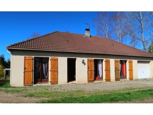 Fiche de présentation Maison à vendre de 93 m²  5 pièces à RILHAC-RANCON