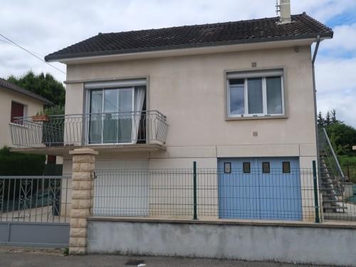 Fiche de présentation Maison à vendre de 80 m²  4 pièces à RILHAC-RANCON