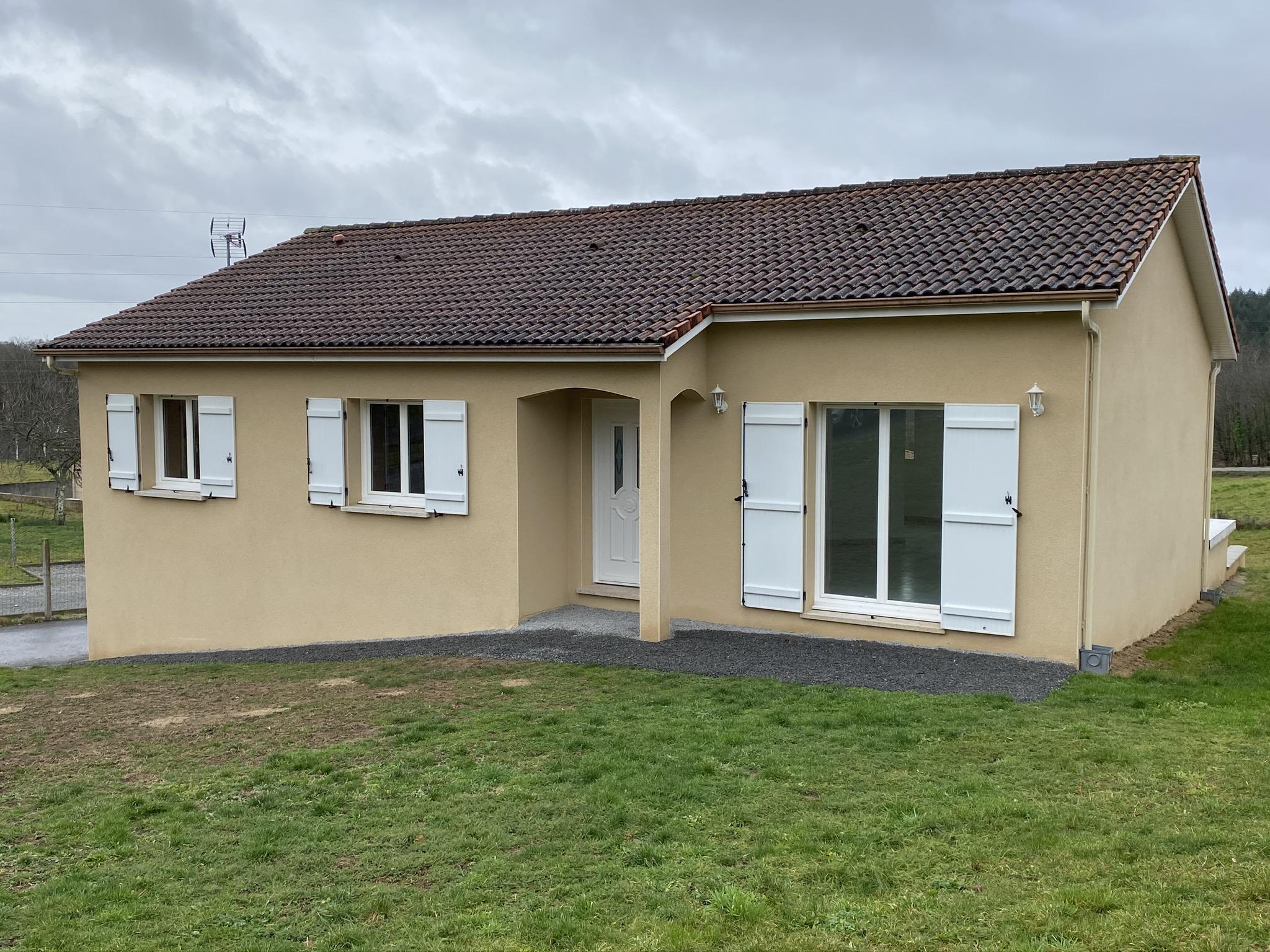 Fiche de présentation Maison à vendre de 110 m²  6 pièces à AMBAZAC