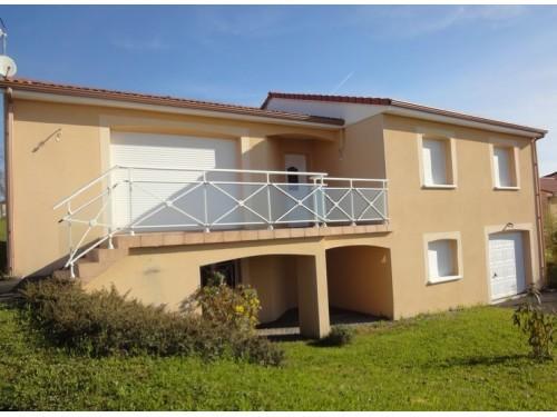 Fiche de présentation Maison à vendre de 118 m²  5 pièces à LE PALAIS-SUR-VIENNE